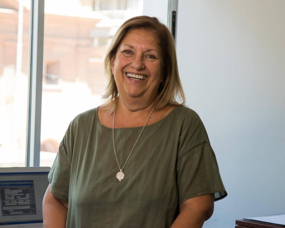 Alicia Castro -Directora de Administracion-